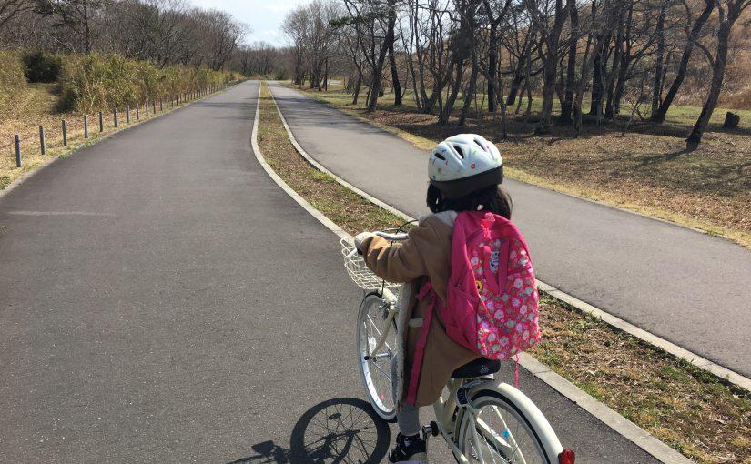 こっちゃん、いばナビで、ひたちで自転車練習する旅(前半)